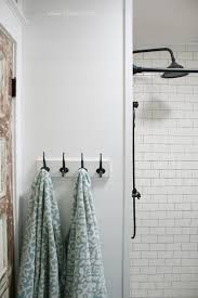 Bathroom remodel gray tile Elegant Love This Subway Tile Shower Remodel Classic White Subway Tile With Gray Grout For Lolly Jane Farmhouse Bathroom Remodel Sources Lolly Jane
