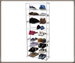 30 pair overdoor shoe rack