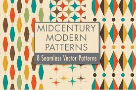 Mid Century Modern Patterns