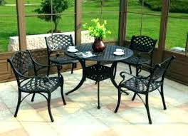 wooden outdoor table and chairs nz patio set round decorating delectable