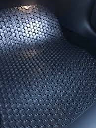 Tesla Model 3 Floor Mats HexOmat All Weather EV Tuning Solutions