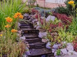 slope hillside gardens gardening