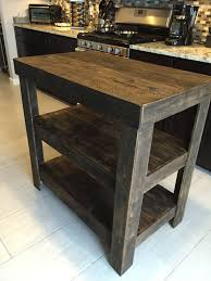 Granite Kitchen Cart Kitchen Carts Kitchen Island Cart Blueprints Reclaimed Wood Cart