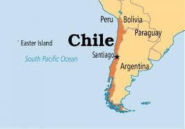 Santiago del Cile mappa - Santiago del Cile mappa (America del Sud -  America)