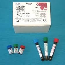Контрольная кровь r d systems Контрольная кровь r d cbc 3d