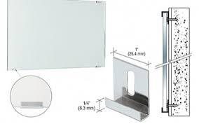 mirror holders. hidden mirror clips holders