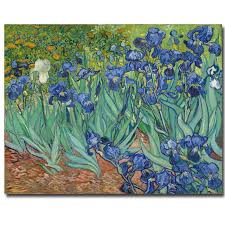 2018 blue irises oil painting vincent van gogh reion painting oil print on canvas wall art prints unframed from aliceer 27 08 dhgate com