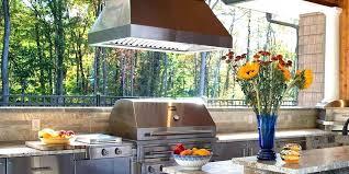 outdoor grill vent hood outdoor vent hoods gourmet outdoor grill vent hood