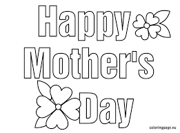 Small Picture Free Coloring Pages Of Happy Mothers Day 17541 Bestofcoloringcom