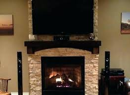 Wall Mount Over Fireplace Amazing Are You Interested In Mounting Tv Above Hide Wires Monoprice Pull Down