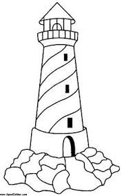 Small Picture Lighthouse Coloring Sheets Free Coloring Sheet quilled ideas