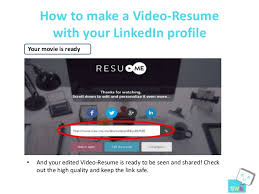 16. How to make a Video-Resume with your LinkedIn ...