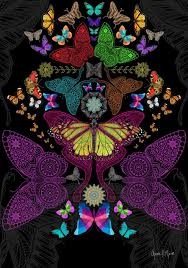 Psychedelic Butterfly Wallpapers - Top ...