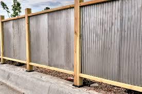 corrugated metal privacy fence. Brilliant Metal Corrugated Metal Fencing Ideas Solidaria Garden To Privacy Fence R