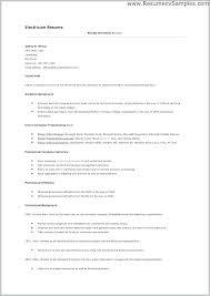 Electrician Resume Example Custom Electrician Resume Examples Professional Sample Resume Format