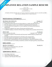 Employment Attorney Sample Resume Gorgeous Labor Relations Resumes Kenicandlecomfortzone