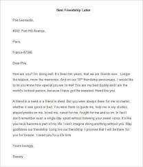 Friendly Letter Format Examples Of A Friendly Letter Rome Fontanacountryinn Com
