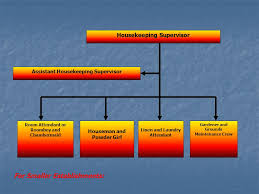Housekeeping Organizational Chart Ppt Video Online Download
