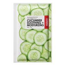 Manefit Beauty Planner Cucumber Soothing And Moisturizing Mask ...