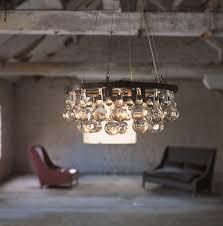 arctic pear chandelier round 45