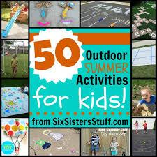 outdoor activities for kids. 50 Outdoor Summer Activities For Kids