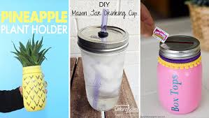Decorating Mason Jars For Drinking 100 Quick And Easy Mason Jar Crafts You Can DIY Today 66