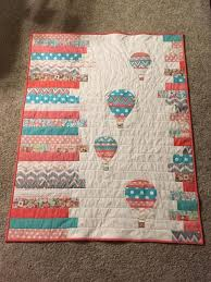 Between Amy Sinbaldi and Alisse Courter, I was in some kind of ... & Looking for quilting project inspiration? Check out Hot air balloons baby  quilt by member Terri Saunders. Cute idea with any silhouette in white space Adamdwight.com