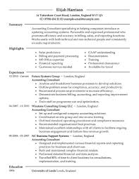 Example Consulting Resume Examples Of Resumes