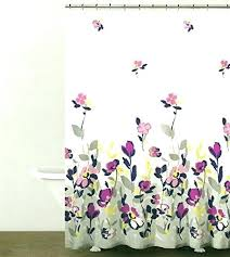 yellow and grey shower curtain botanical nature cotton fl branches design pink navy blue gray curtai
