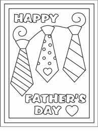 Yes we have whipped out the construction paper and made our own, but sometimes it's fun to find a free printable fathers day card to color at home too and write a special note inside. Free Printable Fathers Day Cards Coloring Cards For Kids Handmade Father S Day Gifts Fathers Day Coloring Page Father S Day Activities