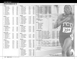2010 TCU Track and Field Media Guide by TCU Athletics - issuu