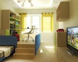teen bedroom ideas yellow. Teen Boy Bedroom Ideas With Lime Yellow Wall And Cream Parquet Combined Blue Wooden Bed Brown Green Bookshelf Also Curtain R