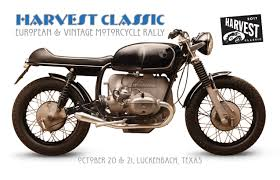 harvest classic a european vintage motorcycle rally a benefit