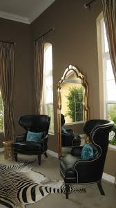 window chair furniture. Window Chair Furniture. Custom Treatments With Black Leather Rand Wing Chair. You Can Furniture O
