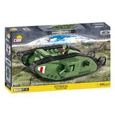 <b>Конструктор COBI</b> Танк Марк 1, 605 деталей