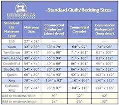 Flat Sheet Size Chart King Size Flat Sheet Dimensions Gogrowth Co