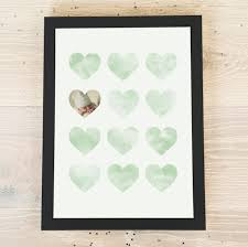a4 lots of love personalised poster