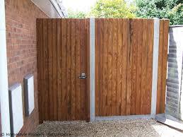 garden gates and fences. New Garden Fence U0026 Side Gate In Verwood Gates And Fences I