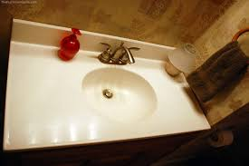 how to re shine to a marble countertop or bathroom vanity that is scratched dull the household tips guide