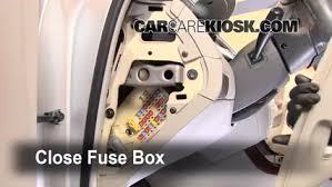 interior fuse box location 2006 2011 hyundai azera 2007 hyundai 2006 Hyundai Tucson Water Leak at 2006 Hyundai Tucson Interior Fuse Box Cover