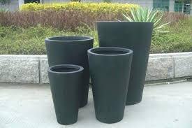 black plant pots plant pot large image of large decorative outdoor plant pots black flower pot black plant pots