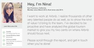 The Brilliant Airbnb Job Application Stunt That Actually