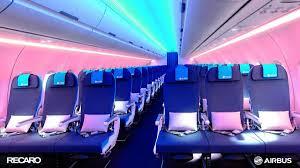 El asiento del avión del futuro se limpiará solo
