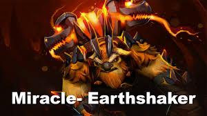 miracle earthshaker triple ultra fail rampage wow dota 2 youtube