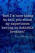 my brother has autism essay  my brother has autism essay