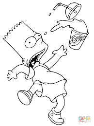 The Simpsons Coloring Pages Free Coloring Pages