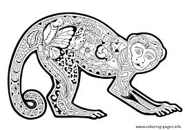 Cute Monkey Coloring Pages Printable Coloring Pages Of Monkeys