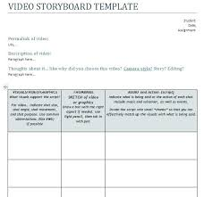 Storyboard Format Template – Custosathletics.co