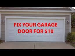 fix garage doorFix Garage Door PoppingBanging for 10  YouTube