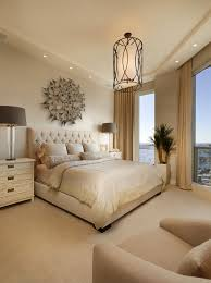 transitional bedroom design.  Bedroom Transitional Master Bedroom With Pendant And Recessed Lights Sofa  ChairPhoto By Dmitry Serba Design  Search Design Ideas With Bedroom